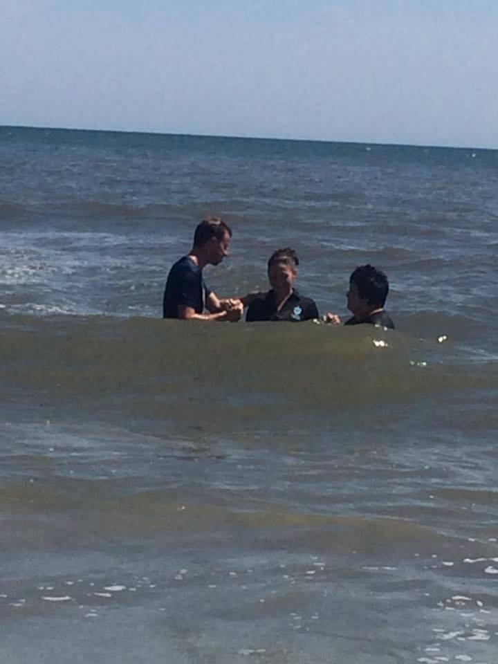 erica baptism