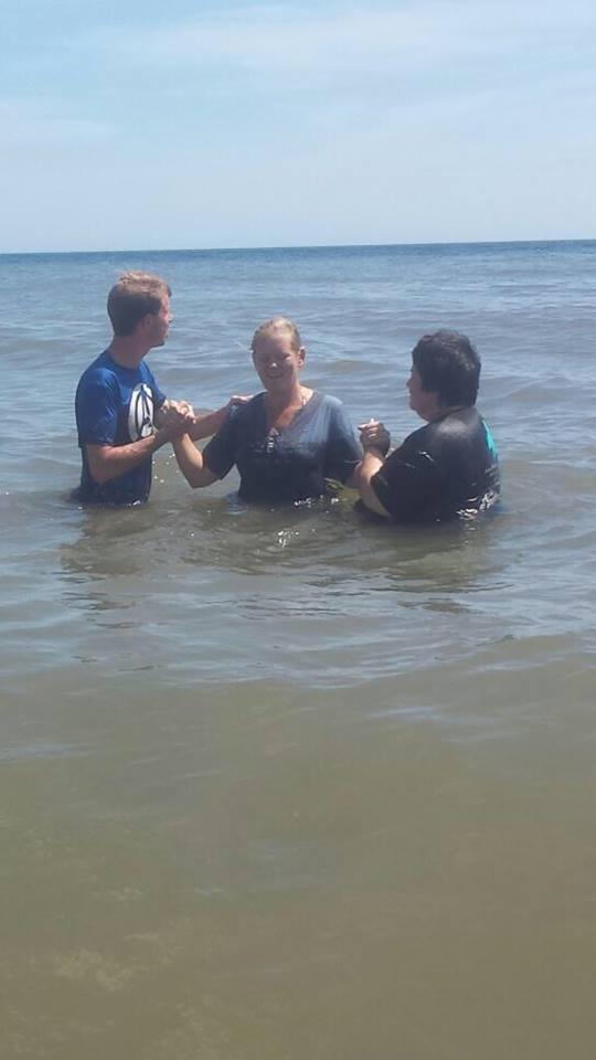 robin baptism