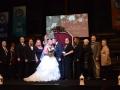 britt beautiful wedding party family